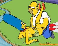 bart and lisa porn homer have marge picnic maggie simpson