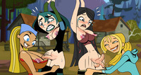 total drama island toon xxx baef fcf bridgette doktormidnite gwen heather lindsay total drama island courtney