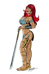 dirty drawn fantasies toon sex toons eabd red sonja mavruda zoj galleries dirty porn drawings from