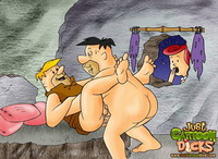 flingstones toons sex pleasures flintstones gay cartoon dicks gone
