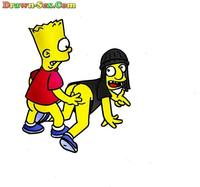 marge and edna getting plowed porn toon edna krabappel gets fucked bart simpson