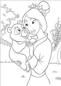 mulan and alice porn coloring pages mulan pet character pictures