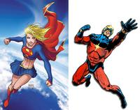 superman and supergirl fucking supergirl mar vell