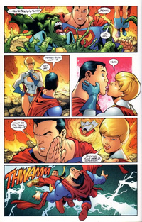 superman and supergirl fucking lef ndkd xlarge insanely awkward superhero romantic subplots