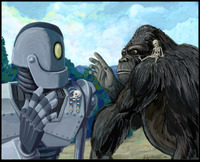 irongiant toon babe porn iron giant king kong andy hunter meets