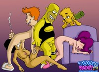 interracial toon orgy porn scj galleries gallery all favorite cartoons banging night away dba bfe group