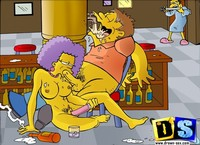 toon characters porn drawn sextoons simpsons