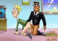 toon nymphos love it big porn gals cartoon dicks johnny test probes ass