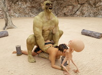 lara croft's holes under attack porn dmonstersex scj galleries nasty gangbang lara croft huge monsters
