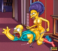 fucking scenes from the simpsons nasty futa dominating scene from simpsons