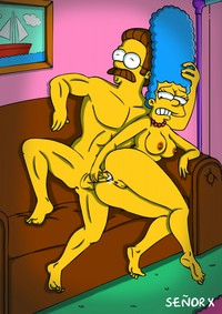 fucking scenes from the simpsons simpsons anime porn
