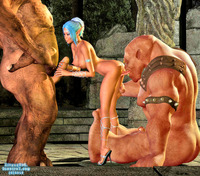 sexy 3d babe porn dmonstersex scj galleries sexy porn chick gets forced sucking long scaly cock