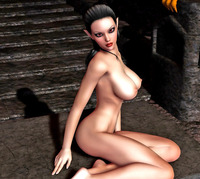 sexy 3d babe porn dmonstersex scj galleries sexy nude night elf babe seducing wicked creature