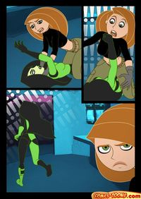 kim, shego and others in sex cartoons porn kim possible having porn mangas