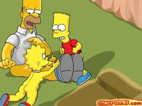 simpsons family porn comics porn cartoon simpsons lisa ass