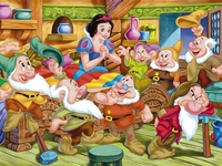 snow white and friends porn wallpapers snow white seven dwarfs