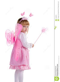belle fairy nude pictures porn little girl pink fairy costume white background stock photo