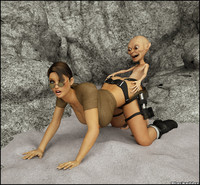 lara croft porn cartoons porn anime cartoon porn lara croft gets fucked freak creature photo