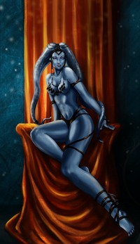 loose kim possible porn media deviantart more like aayla secura ahsoka tano metal bikini art
