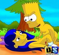 loving simpsons porn simpsons freecomicsporn toon drawn