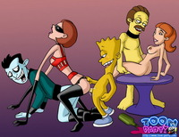 perverted toon universe porn uploadfiles drunk cartoon party porn comics page