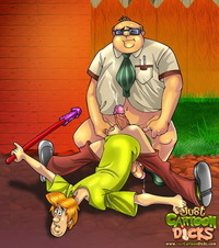 scooby doo porn cartoons porn cartoon dicks scooby doo gay shaggy from series gets ass destroyed