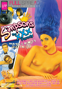 sex show by simpsons porn marge homers front cover hard