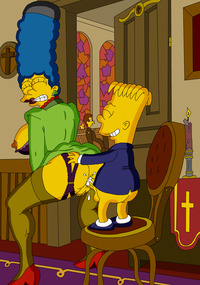 simpsons doing anal porn bart simpson christianity church marge simpsons gundam religion entry