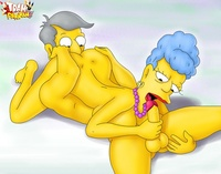 simpsons' wild adventures porn trampararam another amazing gallery horny simpsons toons fucking