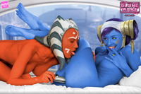 star wars porn cartoons porn media original star wars avatar lipstick ahsoka tano cartoon porn