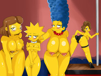 lisa simpson porn edna krabappel elizabeth hoover lisa simpson marge simpsons sssonic porn parody presents nude more