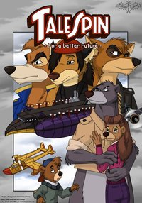 talespin porn pre talespin better future cover shade silverwing xoy morelikethis cartoons digital comics