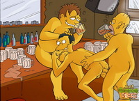 the simpsons perversion porn simpsons cartoon porno actions gay characters having fun