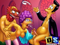 toons drilling madly porn high quality simpsons toon galleries