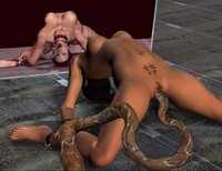 3d animated porn images monstersex tentacle village