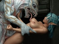 3d porn toon pic devil monster