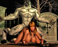 3d sex toons pics dmonstersex scj galleries scary monster screwing under moon toons