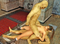 3d toon porn xxx dmonstersex scj galleries toon porn gallery green monster using human chick