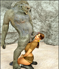 tomb raider porn dmonstersex scj galleries wicked tomb raider porn showing busty babe choking monster cock