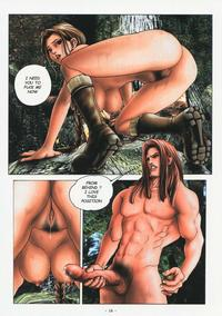 tomb raider porn media original tomb raider porno comic middot