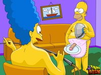adult simpsons toons bdc ccc efeff homer simpson marge simpsons toon bdsm