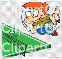 animated character porn royalty free clip art illustration cartoon boy holding hot dog playing ping pong character