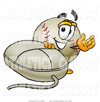 animated character porn clip art smiling baseball mascot cartoon character computer mouse toons biz athletic pictures