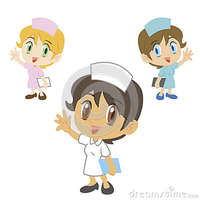 animated character porn nurse cartoon character vector illustration characters
