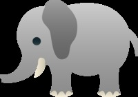 anime cartoon comic porn multisite sweetclipart elephant cute gray baby cartoon