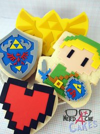 zelda porn zelda cookies nerd cakes its dangerous eat alone take these