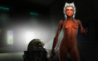 ahsoka tano porn eef fed ahsoka tano clone wars ranged weapon star togruta demogoron