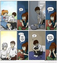 anime sex comic pics comics critical miss evangelion funny comic