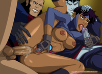 arabatos cartoon porn pictures ccfb dcau klarion vandal savage young justice arabatos rocket