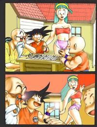dbz porn comics bef fee ecb bulma briefs dragon ball krillin master roshi pandoras box son goku comic porn